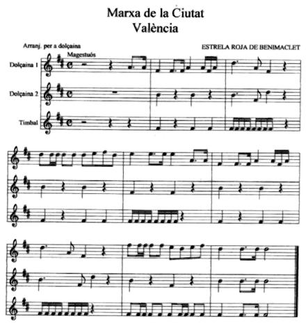 la-marxa-de-la-ciutat-valencia-dolçaina-estrela-roja-ferran-navarro-muixeranga-valencia